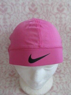 c2ea2c35397 Nike Pro Combat Skull Cap Cancer Awarenes Pink Black OSFM