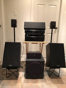 Sony Home Theatre /Sterio System with 5 speakers