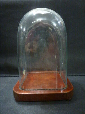Period Glass dome for carriage clock or similar to display (1)