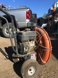 6 hp Walk behind BLOWER for snow or leaves