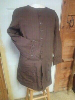 colonial civilian frock coat- rev. war-1812  SIZE 44