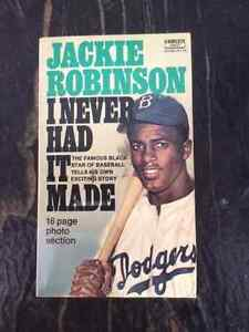 "Jackie Robinson ""I Never Had it Made"" Paperback"