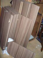 Lot de portes d'armoires, Compagnie White Oak (laminé