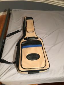 Guitare électrique Godin SD et accessoires