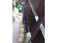 Metal baluster for the stairs