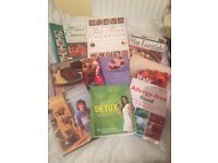 Job lot of Detoxing, Allergy and cooking books