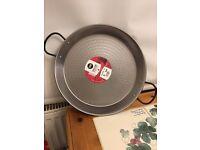 Vaello Campos Carbon Steel Paella Pan, 30cm - New - £10