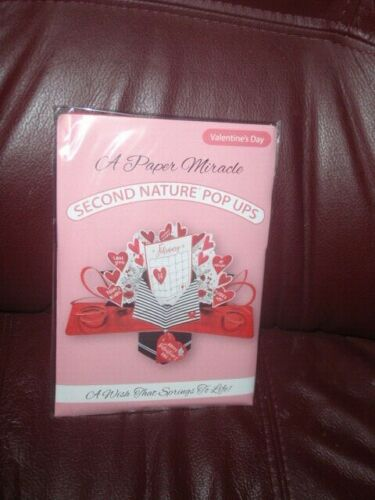 3D  Greeting Card by Second Nature Pop Ups -  Valentine