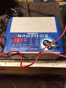 Nautilus Battery Charger 12 volt