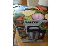 SALTER AUTOMATIC SOUP MAKER---NEW & BOXED