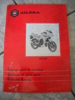 404260 Catalogo Parti Di Ricambio Gilera ,ngr 250, 1986 -  - ebay.it