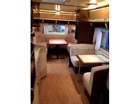 Five berth German Hobby 690 VIP 2009