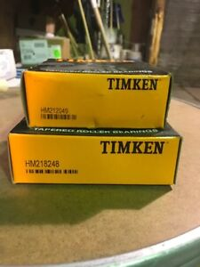 TIMKEN TAPERED ROLLED BEARINGS
