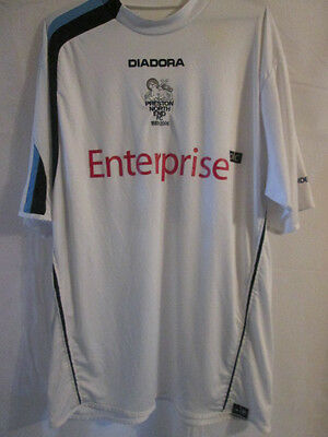 Preston North End 2005-2006 Reserve no 2 Home Football Shirt /9415 deepdale top image