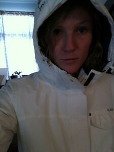 Cool white lole coat gently used, still white! Peterborough Peterborough Area image 3