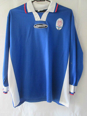 Calcio Azzurro Como 1907 Home Football Shirt Size XS /10133 image