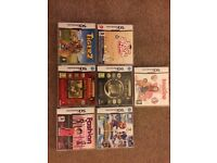 seven, fully functional Nintendo DS games
