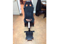 Playseat, racing seat , anchair , Playstation 4 Xbox One Logitech wheel stand