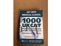 Text book - Get into Medical School - 1000 UKCAT Practice Questions. Include Full Mock