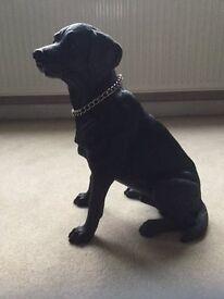 Lovely Black Labrador Ornament by Rengency Fine Arts