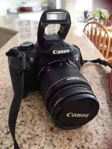 Canon EOS Rebel T4i + 18-55 mm lense.