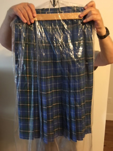Nova Scotia Tartan Skirt - Pure wool