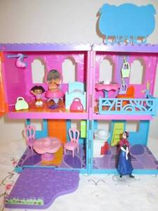 Polly Pocket Miniature Doll House With Furniture & Accessories. Morayfield Caboolture Area Preview