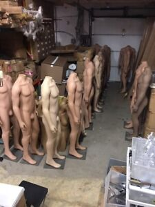 Male/Female/Children headless mannequins with base. From 60$.