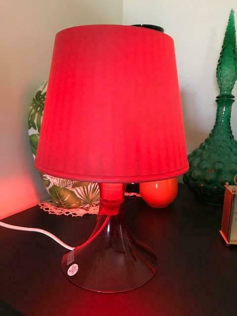 Ikea Led Lampan Red Table Lamp Light, Ikea Red Table Lamps