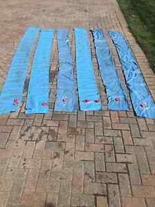 16 Mil 10 ft Double and Single Pool Water Bags (6)