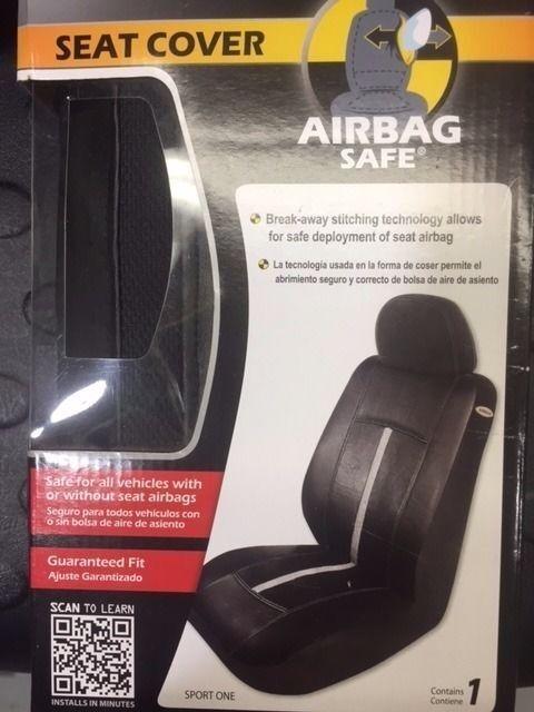 AIR BAG SAFE E370256 SPORT ONE SEAT COVER (RW33C-035)
