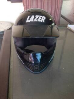 Kids motorcycle helmet. LASER MX Woodville Charles Sturt Area Preview