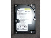 "Weston Digital 250GB 7200 RPM Sata HDD PC 3.5"" Hard Drive"