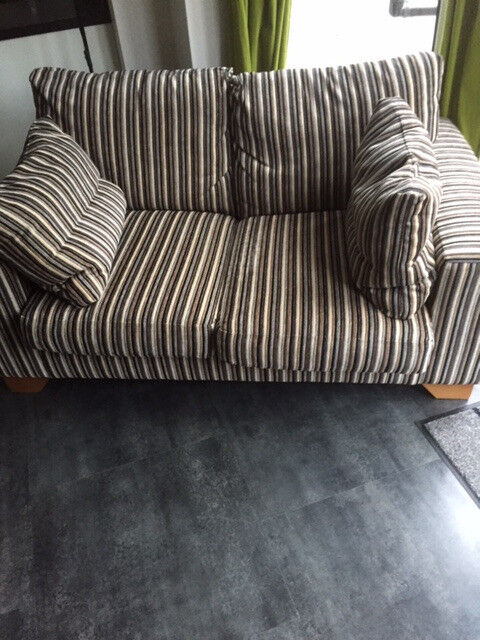 NEXT stripe sofa in as new condition