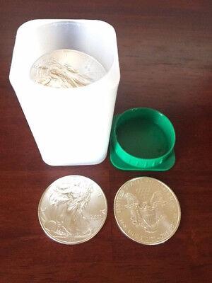 2011 Silver American Eagle Roll of 20 - 1oz Coins - BU