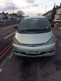 8 Seater big family car, in excellent condition. Aircon circulation through out