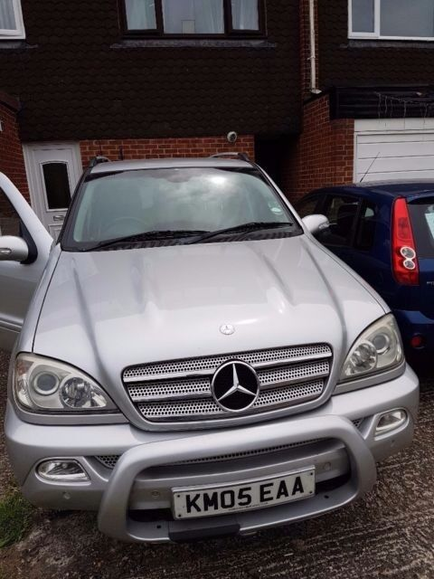 mercedes ml 270 cdi se 2005 7 seater in slough berkshire gumtree. Black Bedroom Furniture Sets. Home Design Ideas
