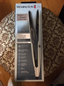 Remington Air Plates Hair Straightener, Flat Iron with Suspended