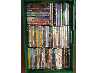 DVD Jobloy of family and childrens DVD's ideal for boot sales