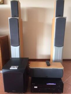 BD Dynamic Home Theatre System with Pioneer Amplifier Grange Charles Sturt Area Preview