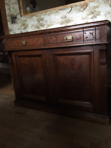 Small footprint Antique Sideboard made in England