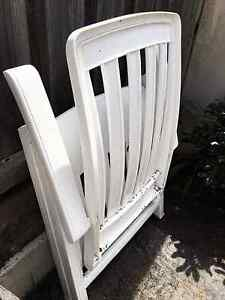 Whit Foldable Outdoor Sunlounge/Chair Umbrella Stand Table Timber Epping Ryde Area Preview