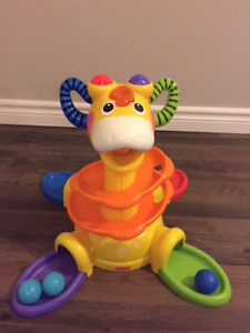 Fisher Price Sit-to-Stand Giraffe - large item over a foot tall