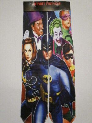 Batman Socks (old school BATMAN socks BUY any pairs 3 GET 4TH PAIR FREE like ODD SOX dc)