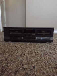 Technics Stereo Double Cassette Deck RS-TR232