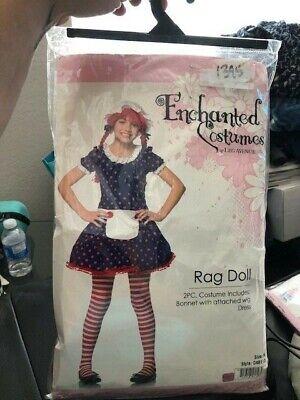 Rag Doll Girls Child 2 Piece Costume New!!!