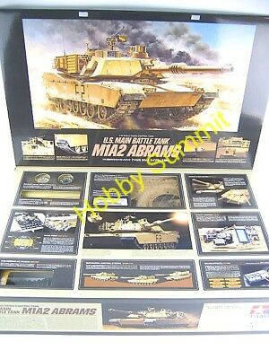 Tamiya R/C 1/16  M1A2 ABRAMS  U.S. Main Battle Tank  F-O Army Marines Kit 56041