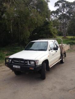 1999 Toyota Hilux Ute 4 X 4 Kotara Newcastle Area Preview
