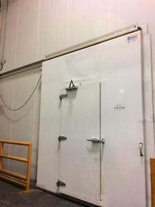 "Huge walk in Freezer 20; x 22' x 20"" high -"