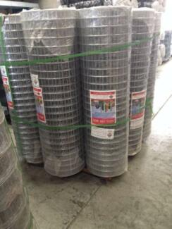 1.5cm x 5cm x 5cm Welded Wire Mesh Roll  $130 per roll